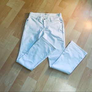 "Old Navy White Bootcut Mid-rise ""The Flirt"" Jeans"